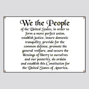 We the People US Banner