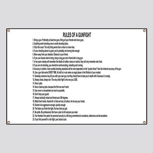 23 Rules Of A Gun Fight Banner