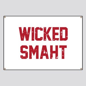 Wicked Smaht Banner