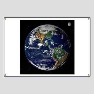 art Earth from space NASA Banner