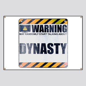Warning: Dynasty Banner