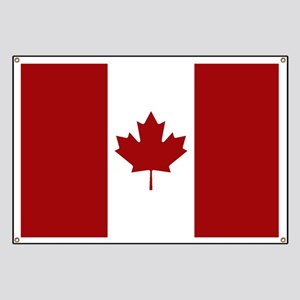 Canada: Canadian Flag (Red & White) Banner