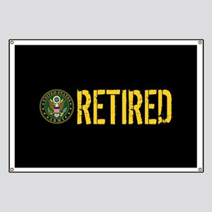 U.S. Army: Retired Banner