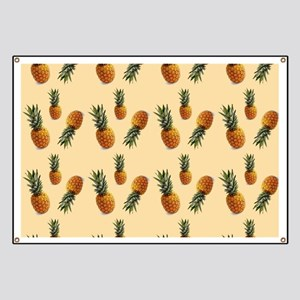 cute pineapple pattern Banner
