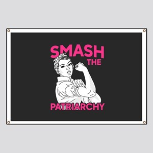 Rosie the Riveter - Smash the Patriarchy Banner