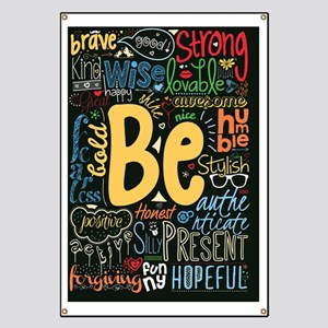 Be Positive, Nice, Brave and many more Insp Banner
