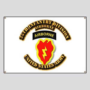 Army - 25th ID - Airborne Banner