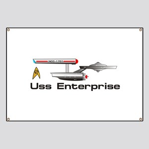 Starship Enterprise Banner