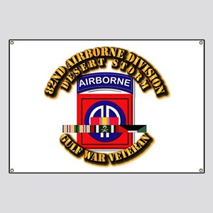 Army - DS - 82nd ABN DIV w SVC Banner