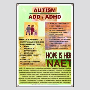 Small Autism Poster Banner
