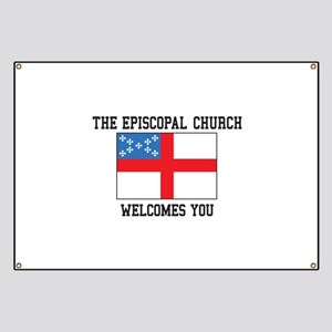 The Episcopal church welcomes you Banner