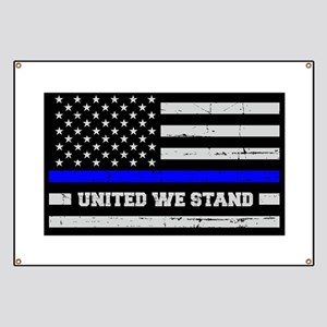 Thin Blue Line United Banner