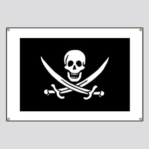 Calico Jack's Pirate Flag Banner