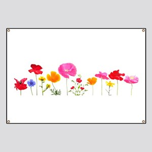 wild meadow flowers Banner