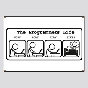 Unique The programmers life Banner