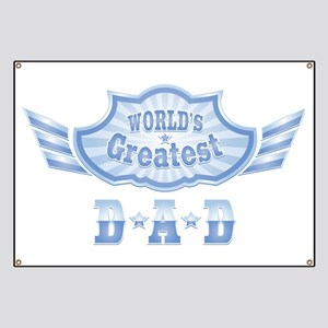 World's Greatest Dad Banner