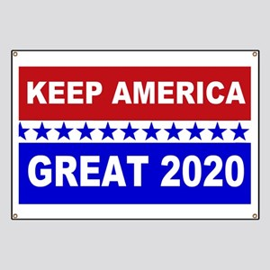 Keep America Great 2020 Banner