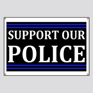 Support Our Police Banner
