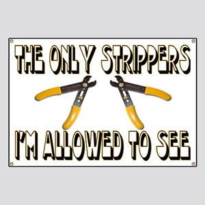 Only Strippers Banner