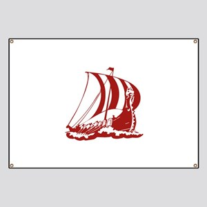Viking Ship Banner
