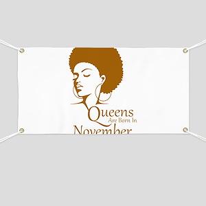 2aadd7727 Queens Are Born In November Black Women Birthday B