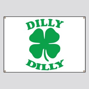 Dilly Dilly Saint Patricks Day Banner