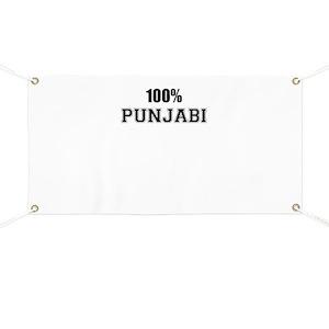 100% PUNJABI Banner
