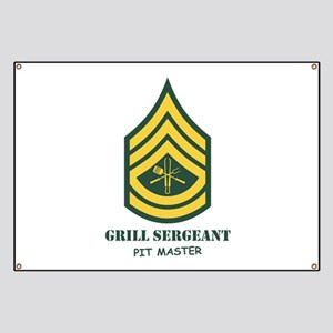 Army Drill Sergeant Banners - CafePress