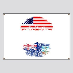 American Grown With Montserratian Roots Banner