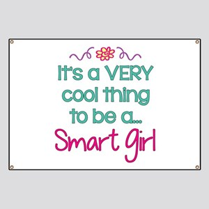 d953744bf Cool to be a Smart Girl! Banner