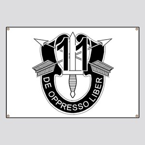 11th Special Forces - DUI - No Txt Banner