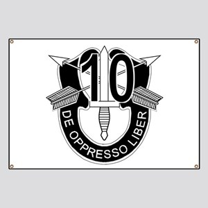 10th Special Forces - DUI - No Txt Banner