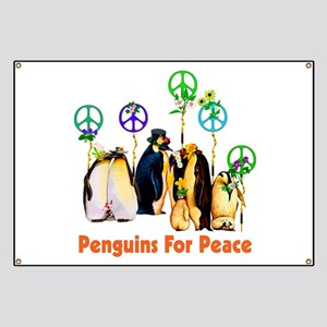 Penguins For Peace Banner
