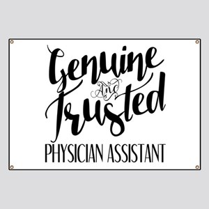 Genuine and Trusted Physician Assistant Banner