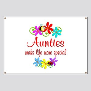 Special Auntie Banner