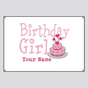 Birthday Girl - Customized Banner
