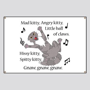 Mad Kitty Angry Kitty Banner
