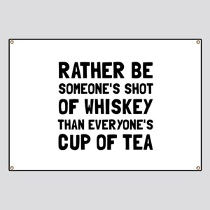 Shot Of Whiskey Banner