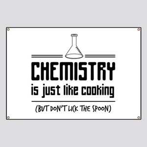 chemistry is like cooking Banner