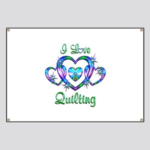 I Love Quilting Banner