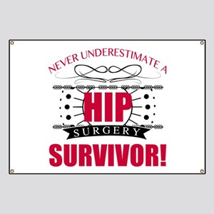 d9df6c35f Hip Surgery Banners - CafePress