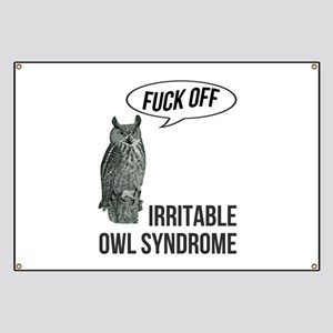 Irritable Owl Syndrome Banner