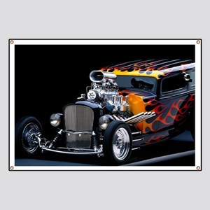 9b2299527 Hot Rod Banners - CafePress