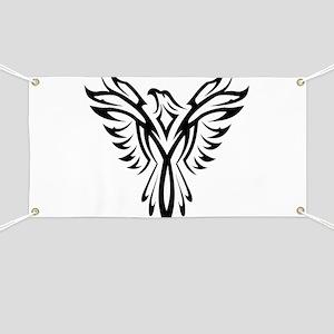 Bird Tribal Tattoo Banners Cafepress