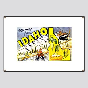 Idaho State Greetings Banner