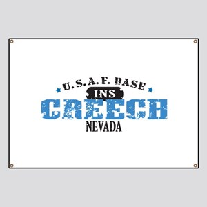 Creech Air Force Base Banner