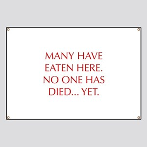 Funny Cooking Quotes Banners - CafePress