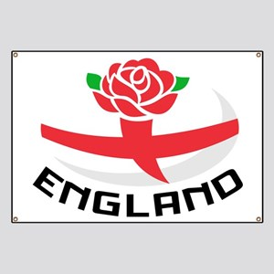 Rugby England Rose Banner