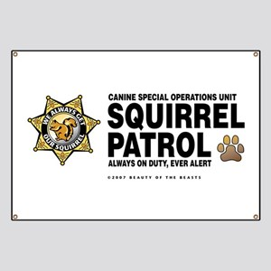 Squirrel Patrol Banner