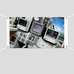 Flight Simulator Banners - CafePress
